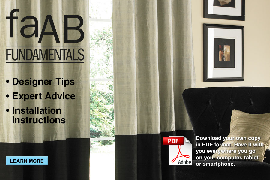 faAB FUNDAMENTALS | Designer Tips | Expert Advice | Installation Instructions